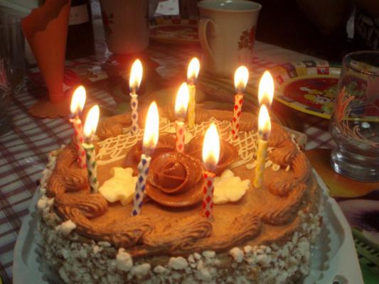 Именинный торт фотографии