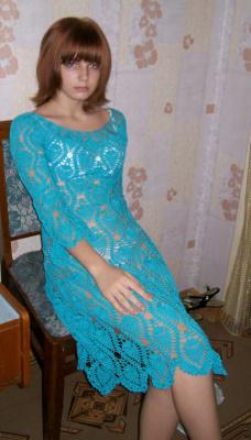 """Платье """"Ананасы"""""""