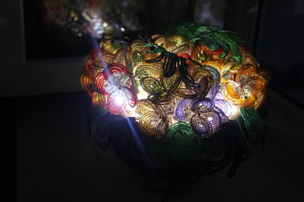 Светильник - Букет  гортензии