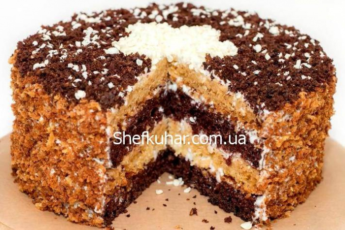 Сметанный торт гост фото рецепт