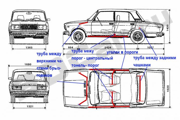 Ваз 2101 тюнинг своими руками чертежи