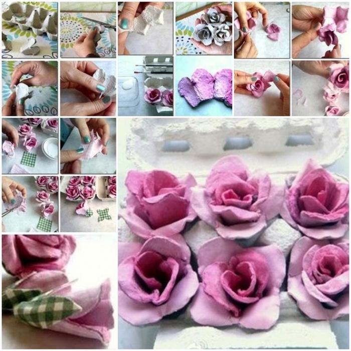 Цветы своими руками из упаковки от яиц своими руками