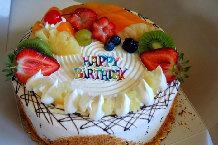 тортик на день рождения с фото