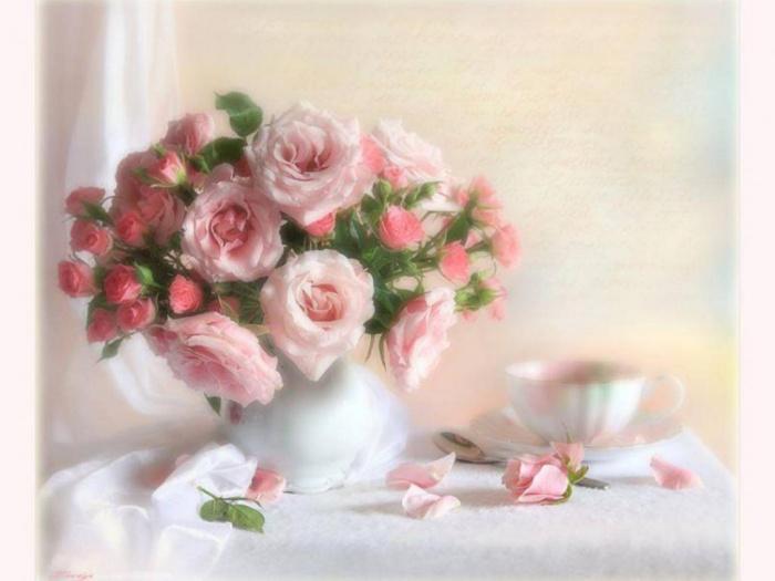 Красивые и нежные поздравления с юбилеем для женщины