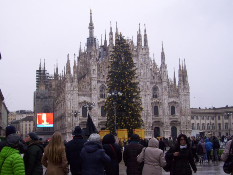 Новый год в Милане - Дуомо