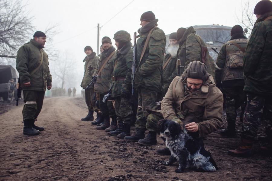 Логвиново: мгновения войны. - Novorossia Today