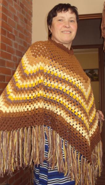Вязание золотыми нитками 29