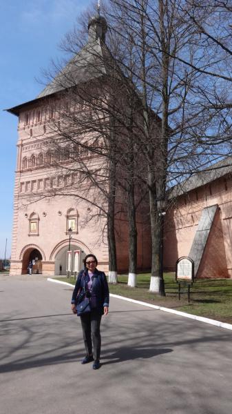 В Свято-Ефимиевском монастыре, Суздаль, апрель 2017г.