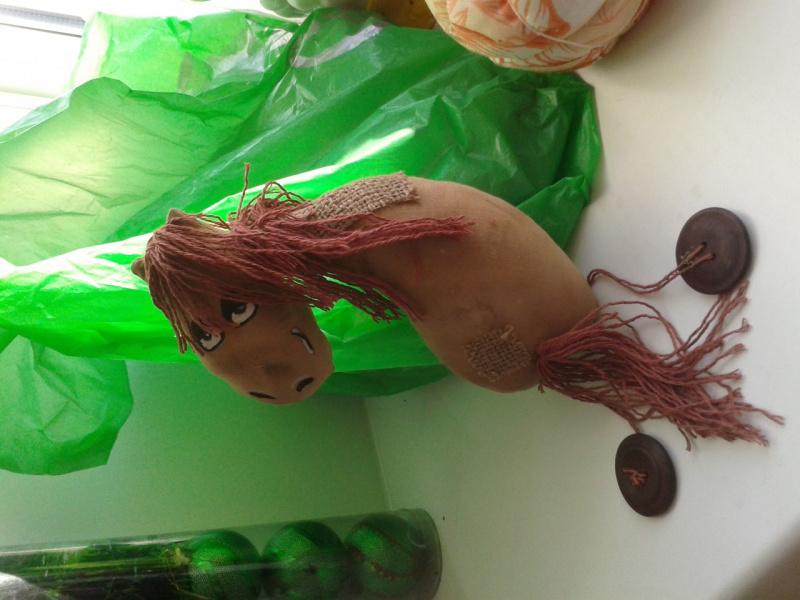Чердачная игрушка Лошадь.