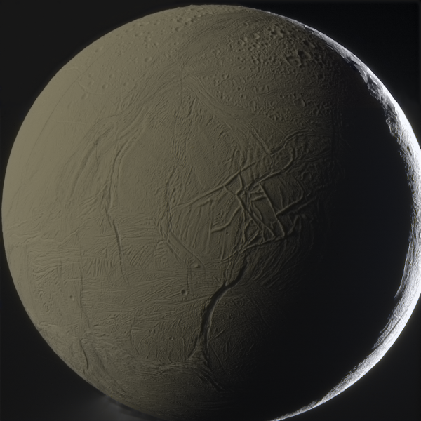 Спутник Сатурна Энцелада