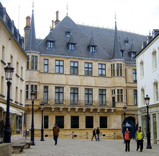 Люксембург. Резиденция Великого Герцога.