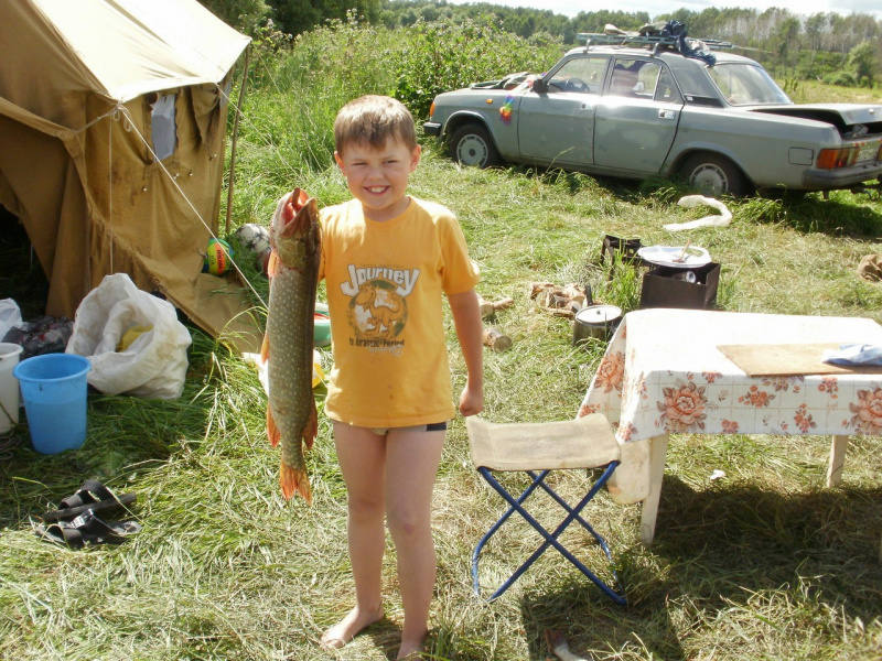 наш самый главный рыбак