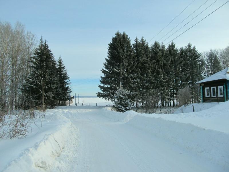В морозный день к Волге. Январь 2017.