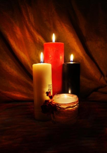 Ореол свечи
