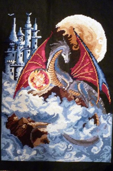 Вышивка дракон приметы 23