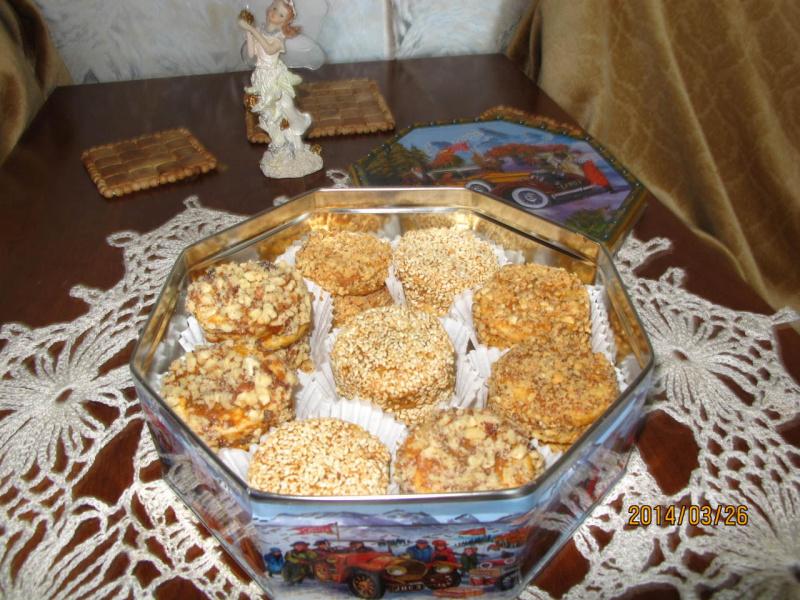 Печеньки с разной начинкой
