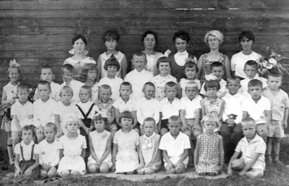 Старшая и подготовительная группа Д /С РОМАШКА 1970г.