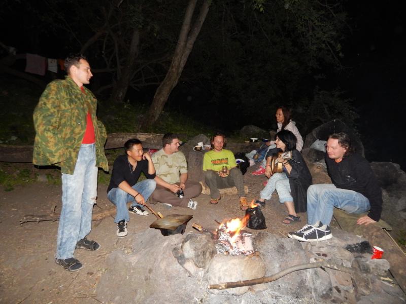 ночь в горах