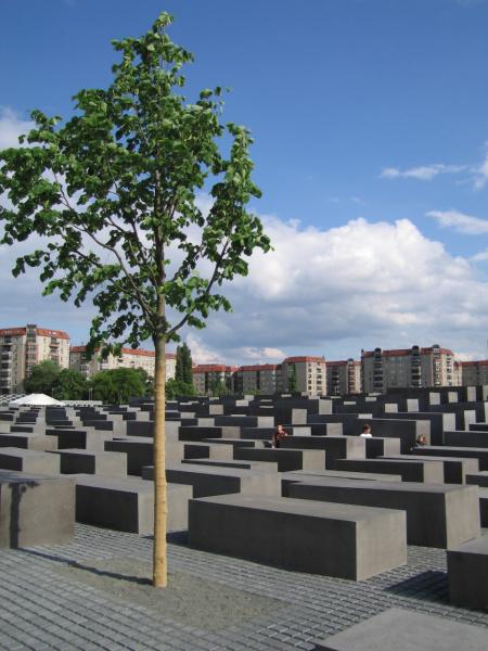 Мемориал «Холокост» в Берлине, Германия