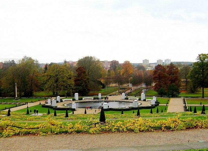 Германия, Потсдам. Сан-Суси в ноябре.
