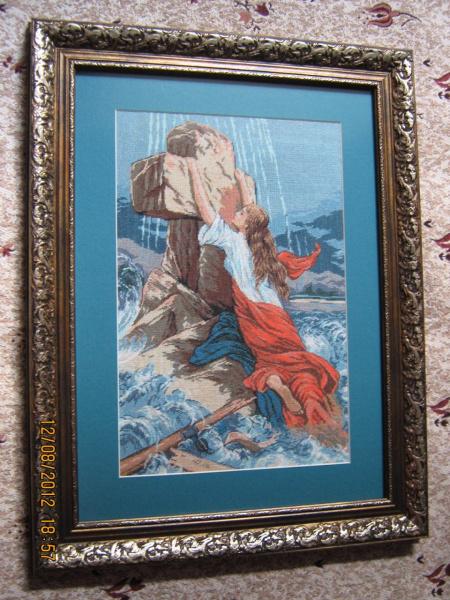 Любовь и вера вышивка 226