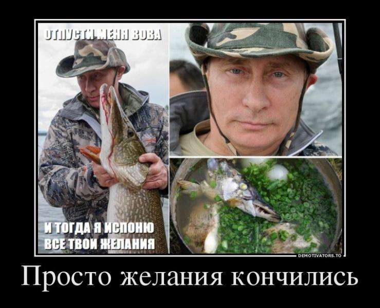рыбак поймал щуку стихи