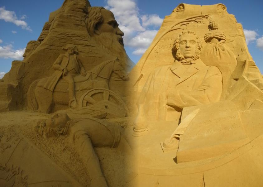Скульптуры из песка 6