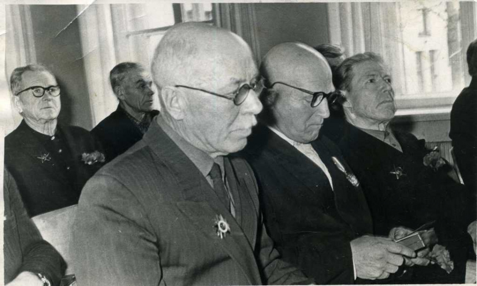 Награждение участников Гражданской войны 1917-1921 г.