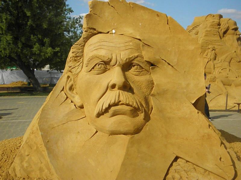 Скульптуры из песка 5
