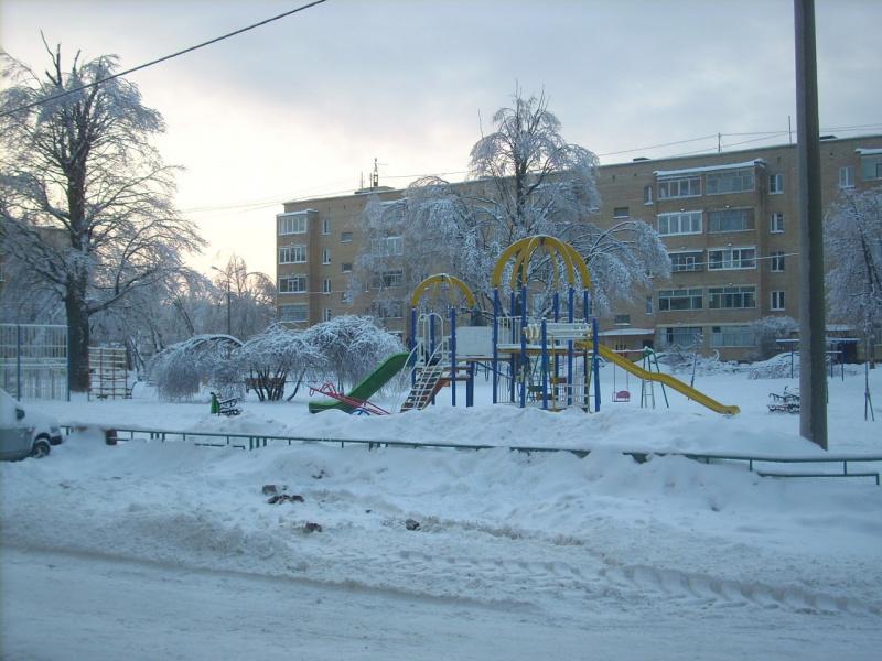 Вид детской площадки
