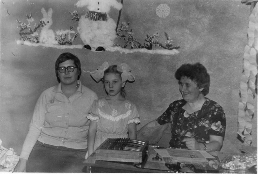 Новый Год на рабочем месте. 31 декабря 1986 г.