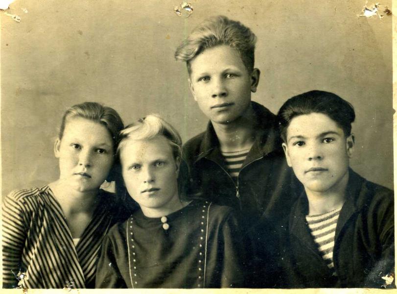 Юность. 1943 год.