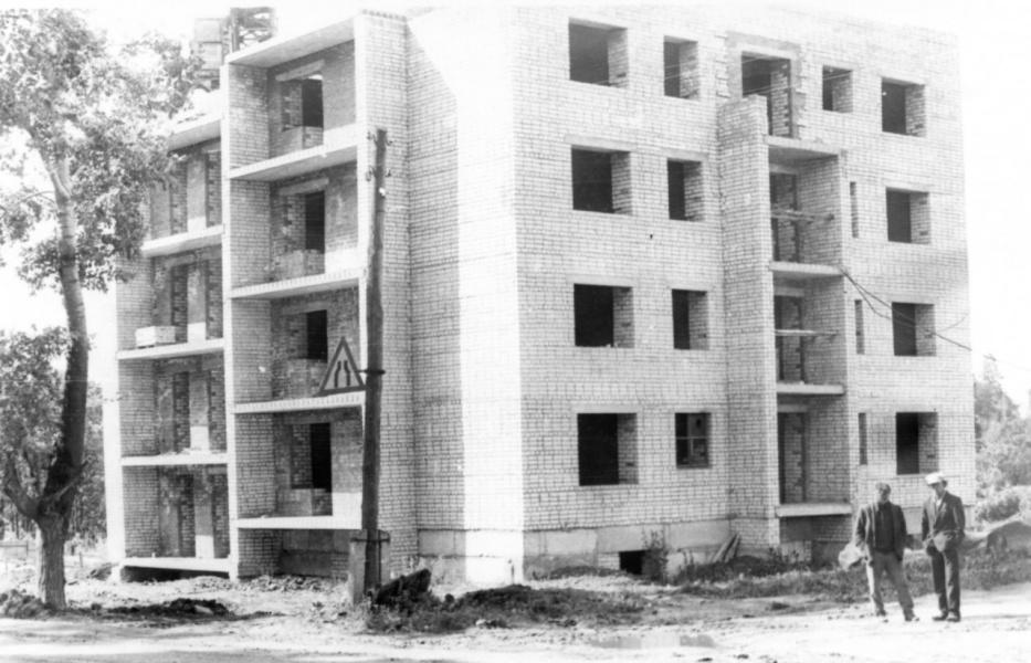 Одна из последних строек конца 20 века.