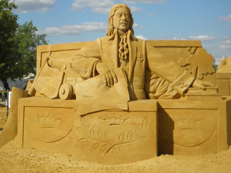 Скульптуры из песка 3