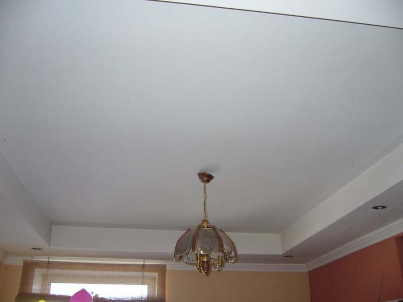 Простейшие потолки своими руками