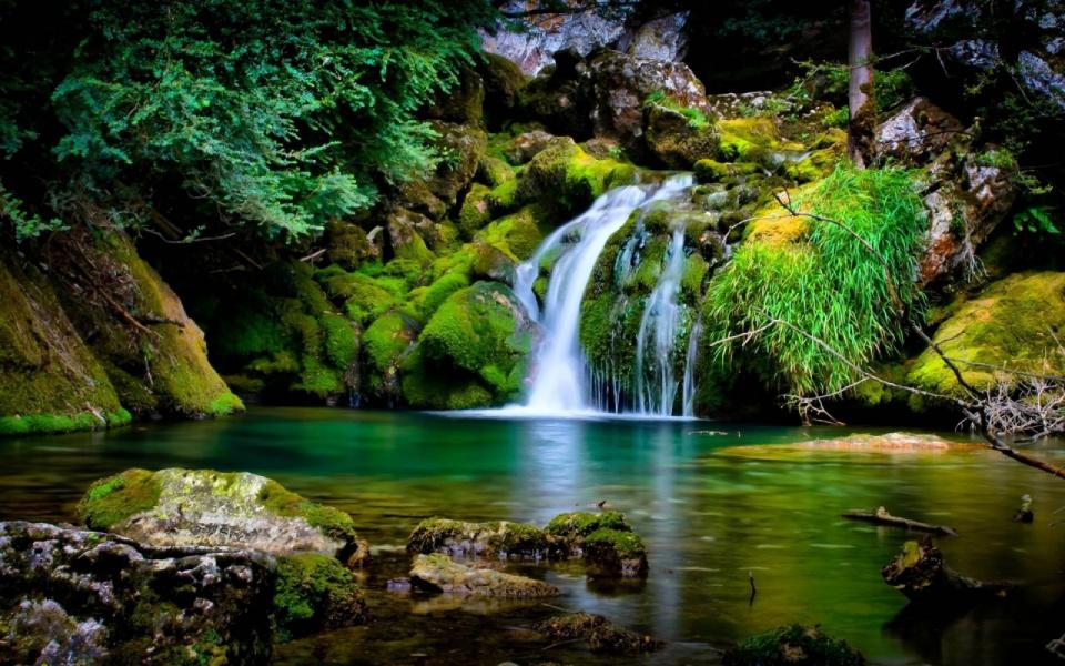 картинки на рабочий стол живые водопады