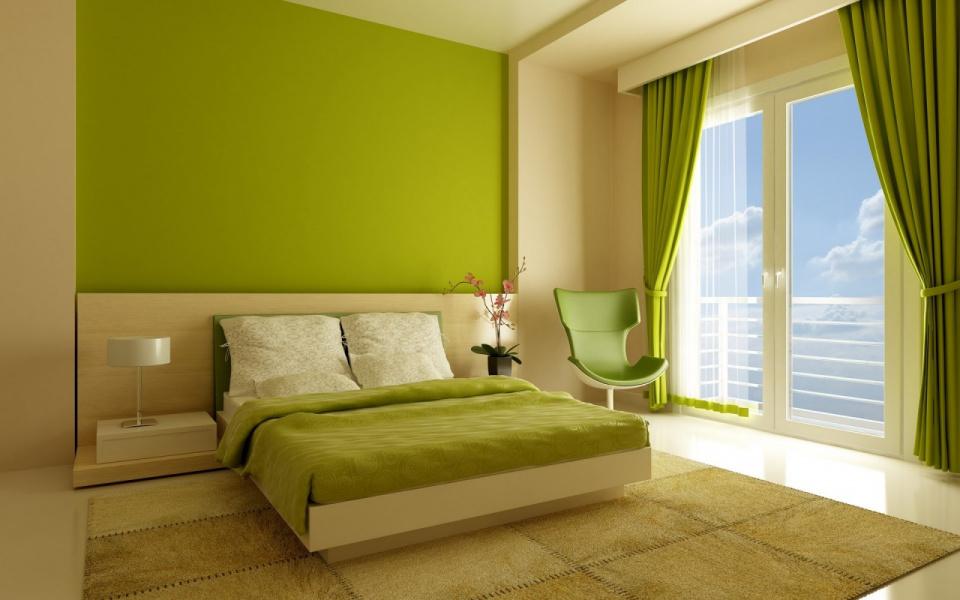 каким цветом выкрасить спальную комнату