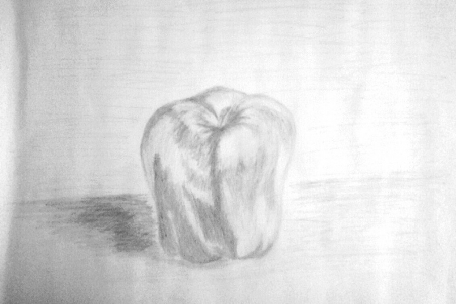 Яблоко.