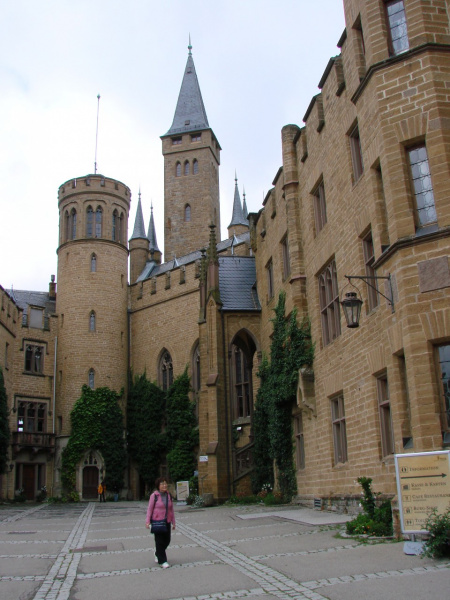 Германия.Замок Гогенцоллерн