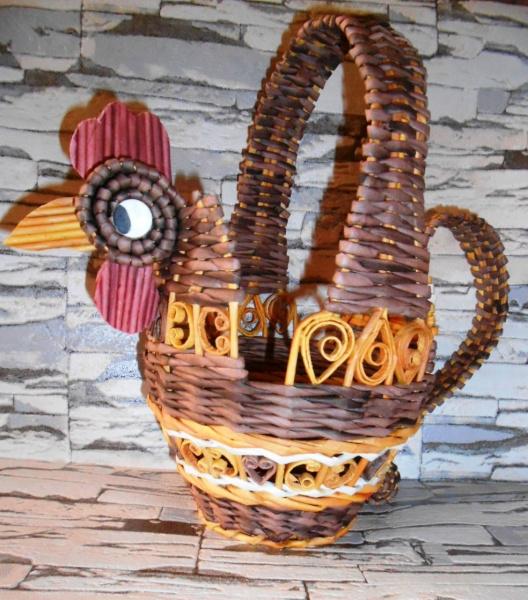 Декоративная корзинка.