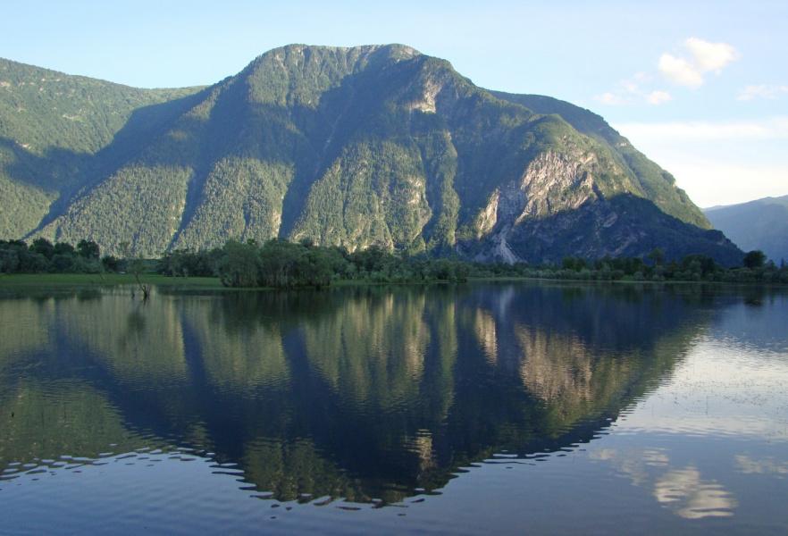 зеркало горы