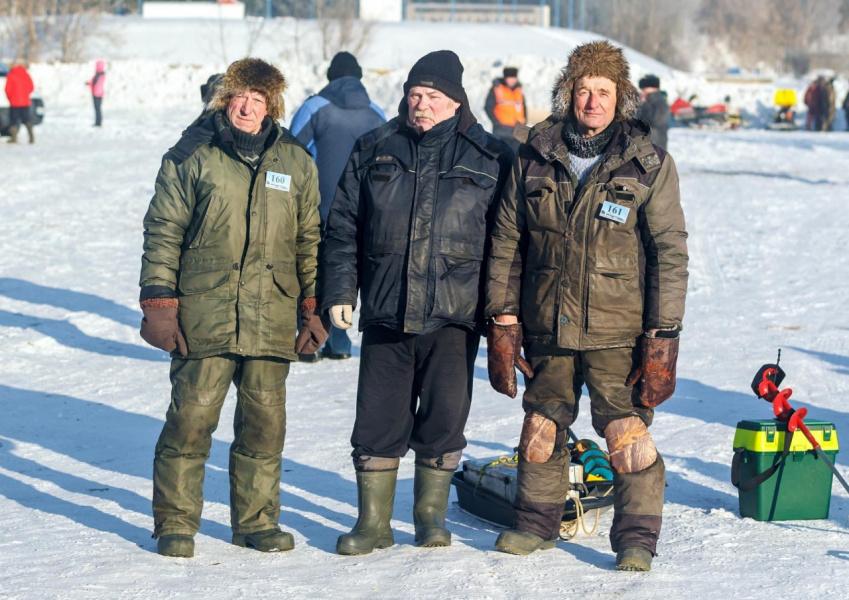 Самые взрослые рыбаки конкурса!
