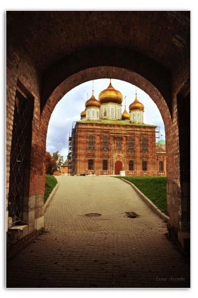 Успенский собор В Тульском Кремле
