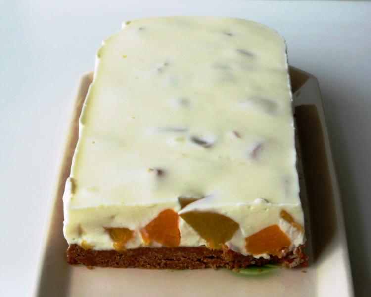 Фруктовый тортик без выпечки