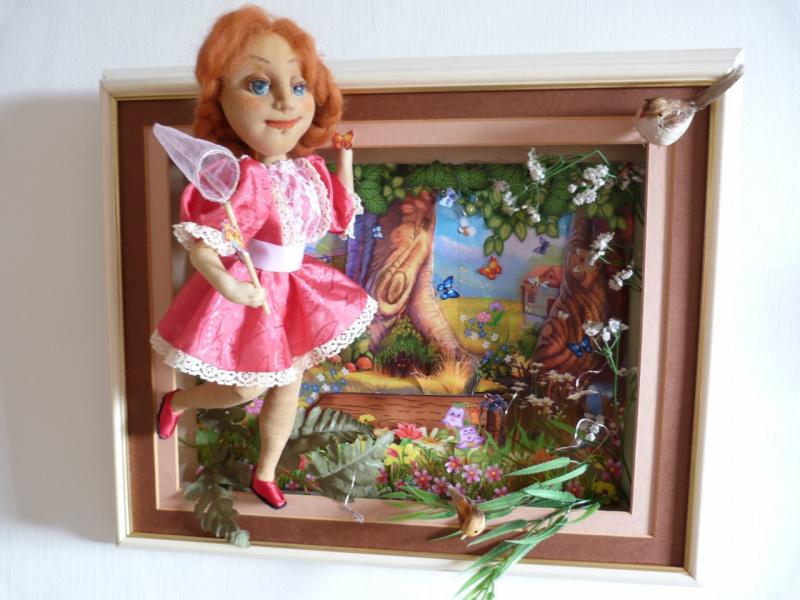 Панно из кукол своими руками 485