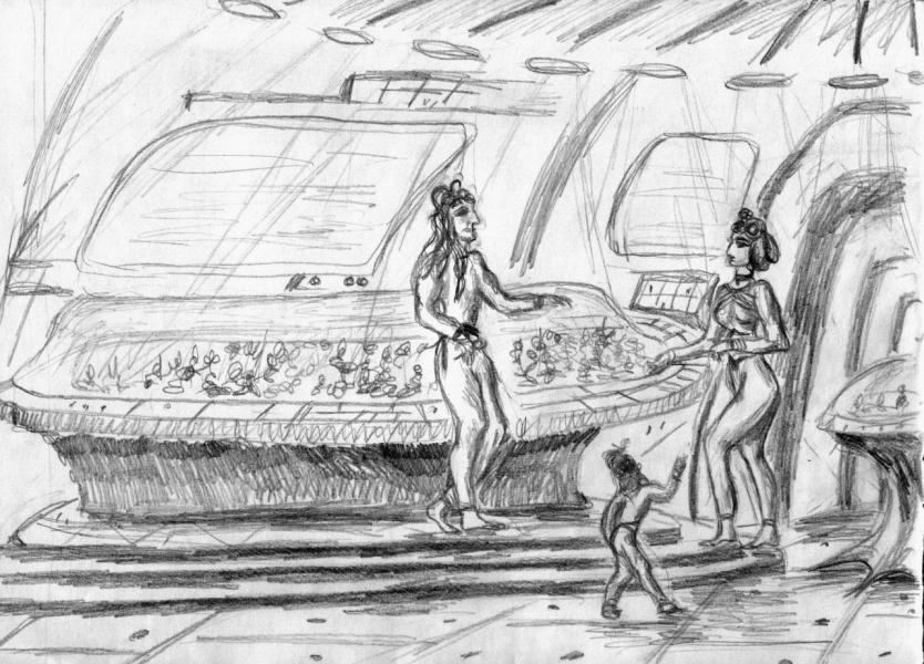 На базе инопланетян перед тунгусским взрывом