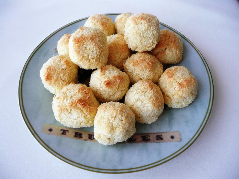 кокосовое печенье