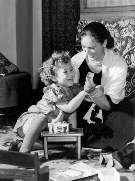 Клара Лучко с дочерью Оксаной