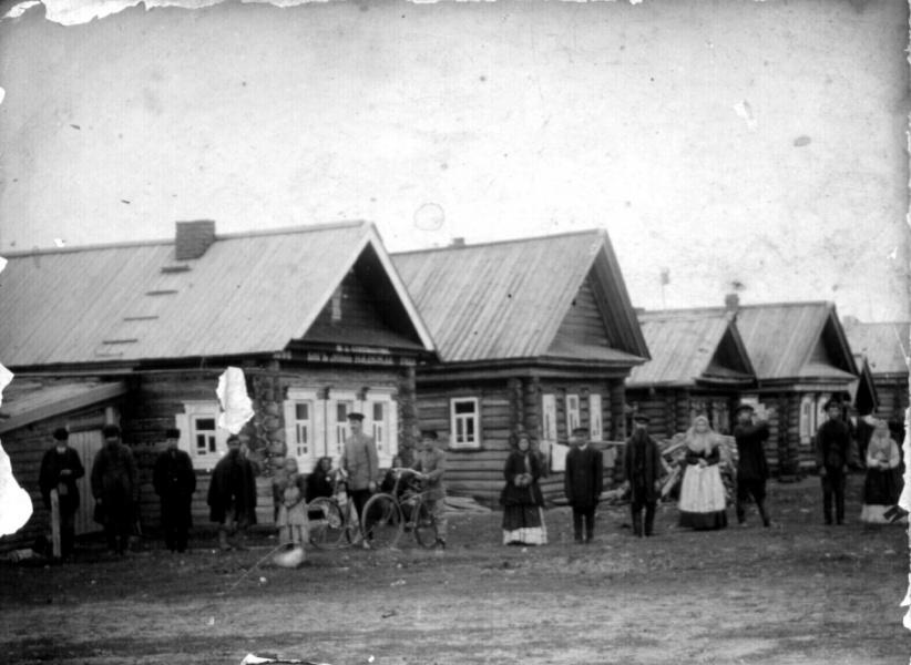 Деревня Мутовкино