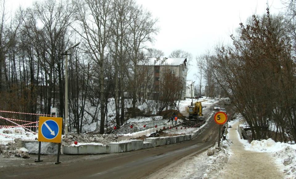 """Мост в южной части города дождался своего """"ремонтного часа""""! Ноябрь 2016."""